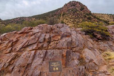 Coronado Trail Plaque