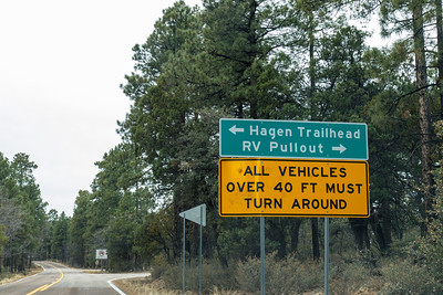 Where the Coronado Trail Gets Serious