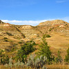 Rolling hills of Theodore Roosevelt National Park