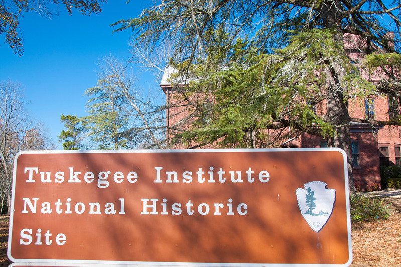 Tuskegee Institute National Historic Site entrance