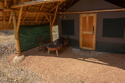 Murchison River Lodge, our tent