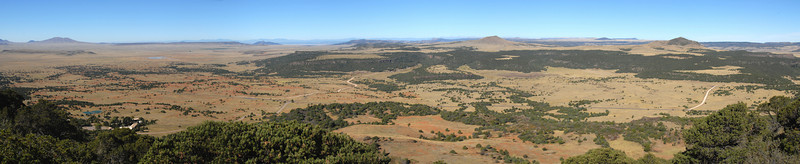 View to the west from Mount Capulin