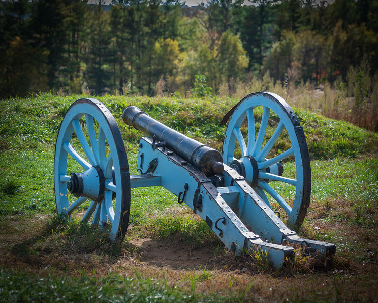 Cannon on Redoubt
