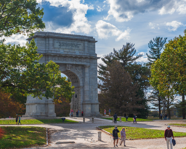 National Memorial Arch (North Face)