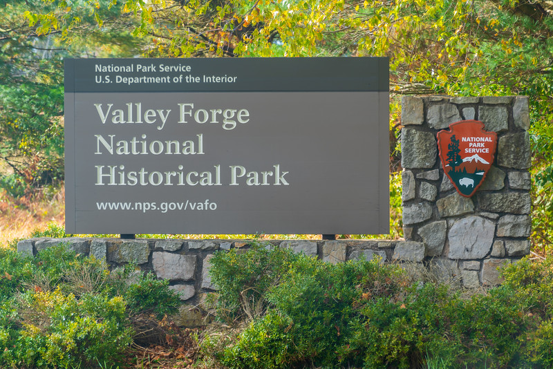 Valley Forge Entrance