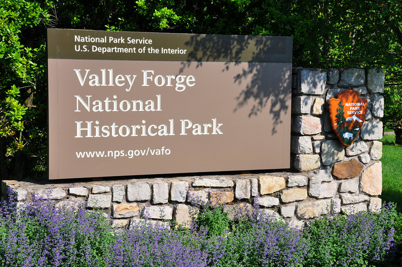 Entering Valley Forge National Historical Park