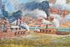 Vicksburg, Mississippi - flood wall mural by Robert Dafford - D3-C3-0027 - 72 ppi