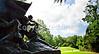 Cyclist in Vicksburg Nat'l Military Park, MS - D3-C2-0103 - 72 ppi