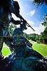 Cyclist in Vicksburg Nat'l Military Park, MS - D3-C2-0073 - 72 ppi