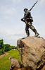 Cyclist in Vicksburg Nat'l Military Park, MS - D2-C2-0060 - 72 ppi