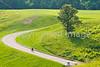 Cyclist in Vicksburg Nat'l Military Park, MS - D2-C3-0004 - 72 ppi