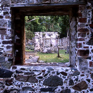 Cinnamon Bay ruins
