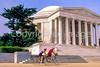 Bikers at Jefferson Memorial on Tidal Basin - 13 - 72 ppi