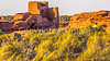 Biker at sunset in Wupatki National Monument, Arizona-D1-C1-0257 - 72 ppi - 2