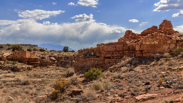 A Peak Overlooking the Box Canyon Pueblo Ruins