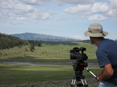 YELLOWSTONE & a little bit of work