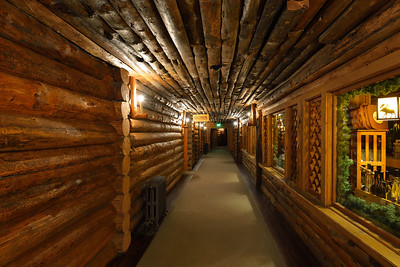 Old Faithful Inn hallway