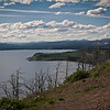 Butte Overlook-Yellowstone Lake-Evening