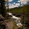 Firehole River, along the Fire Canyon Drive.