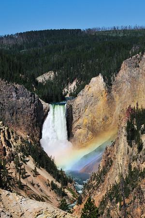 Lower Falls in Yosemite's Canyon