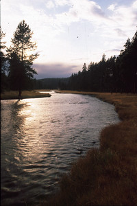 This is the Nez Perce River, named after that Indian tribe, which flows through Yellowstone.
