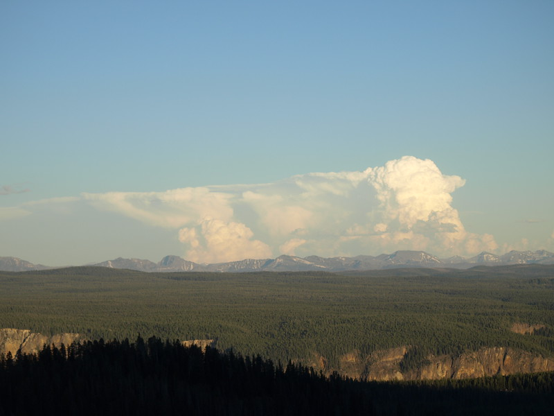 Thunderhead Above the Canyon