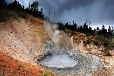 boiling mud @ yellowstone NP