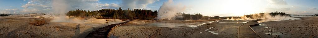 Porcelain Basin; Norris Geyser Basin @ Yellowstone National Park
