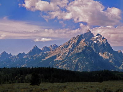Mt. Moran, Grand Tetons National Park