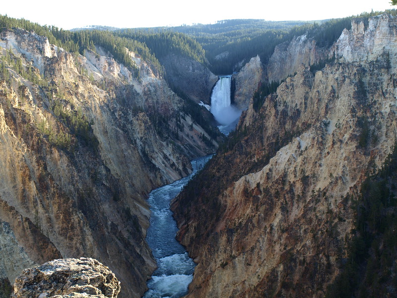 Yellowstone River in the Grand Canyon of the Yellowstone