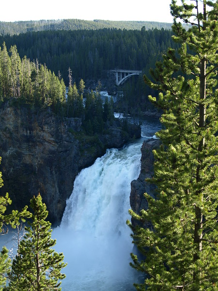Yellowstone River Upper Falls
