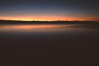 Lake Yellowstone at dawn