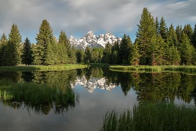 Teton Reflection 1