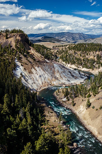 Calcite Springs, Yellowstone National Park, Wyoming on September 19, 2019 by Michael Mroczek. Photographed with a Fujifilm X-Pro2 and XF23mmF1.4 R lens at 23 mm | ƒ / 7.1 | 1/105 sec.