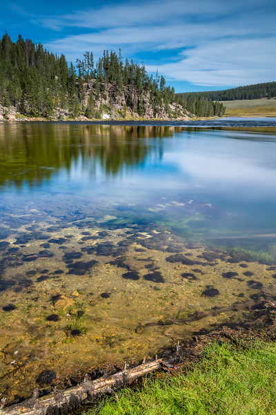 Yellowstone River Reflecting