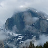 Clouds and Half Dome