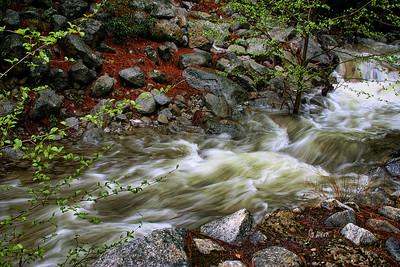 Stream feeding the Merced - on a good water year - 2009.