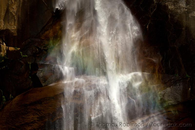 Close in to Nevada Falls, Yosemite National Park