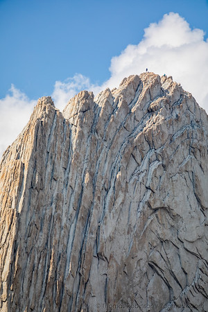 Summiting Matthes Crest