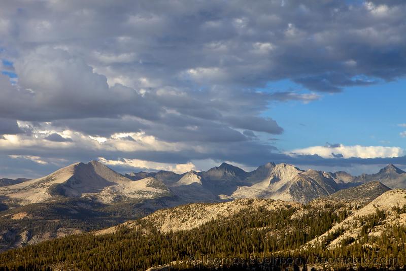 High Sierras from Red Peak Pass