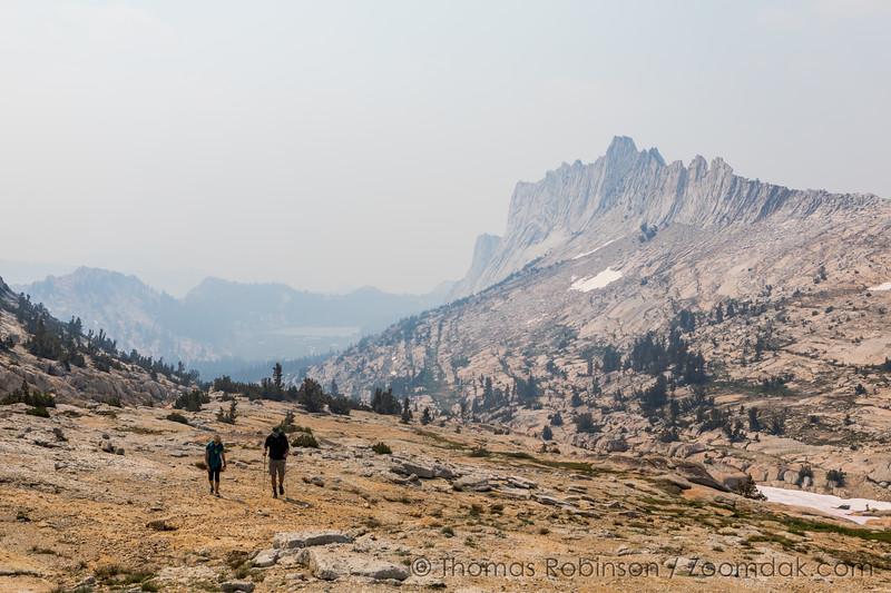 Hiking to Cockscomb Peak