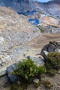 Red Peak Pass to Upper Ottoway Lake