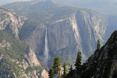 Upper Yosemite Falls from Taft Point