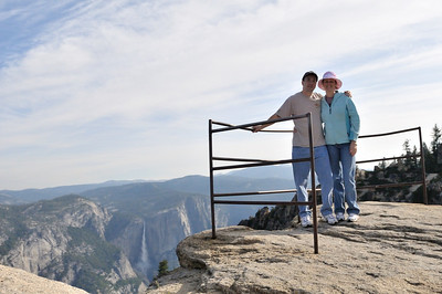 Us at Taft Point