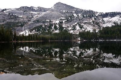 Tenaya Lake calm after the rain