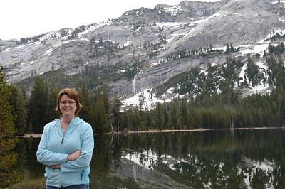 Lisa at Tenaya Lake