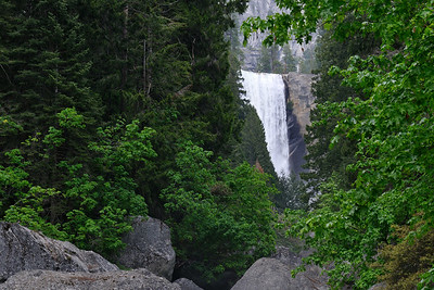 Vernal Falls from footbridge