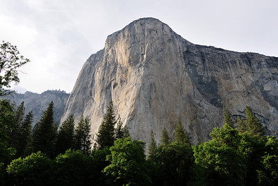 El Capitan late in the afternoon