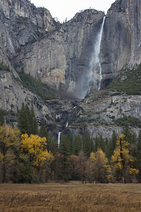 YOS-121201-0005 Yosemite Falls in late fall