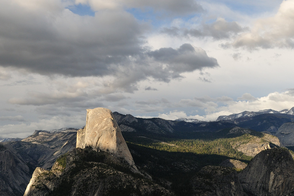 Half Dome profile from Washburn Point
